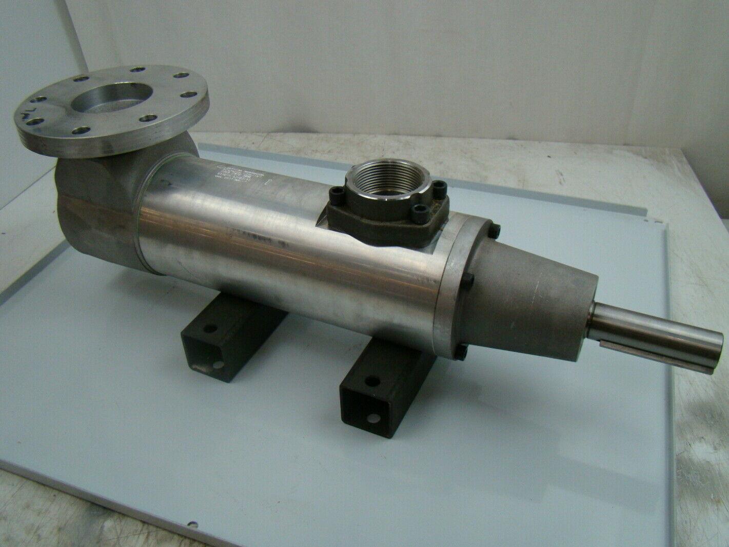 Settima Meccanica Elevator Hydraulic Screw Pump GR 60 SMTU 500L