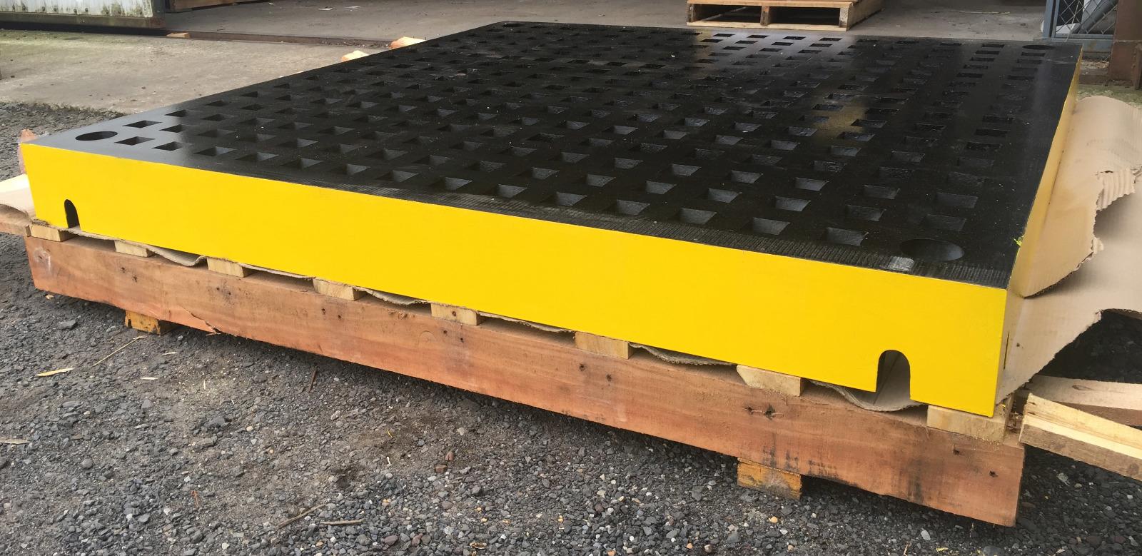 New 5 Ft X 5 Ft Welding Platen Cast Iron Layout Table 5x5