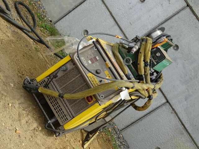 Esab 453cv Mig Welder with Model 35 WF Feeder 230/460v 3-PH
