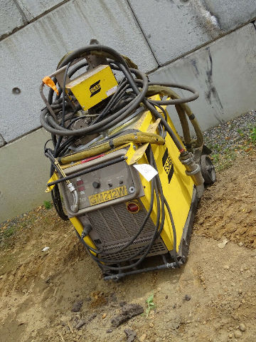 Esab 453cv Mig Welder with Model X 35 FD Feeder 230/460v 3-PH