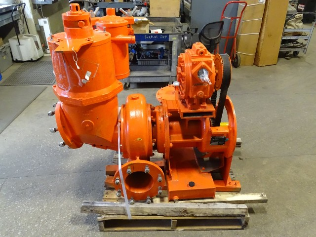Godwin 8x8 3100GPM Water Pump, Gorman Rupp, Self Priming , CD225MV-120CFM