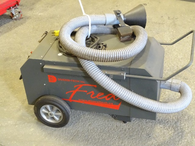 Diversi-Tech Inc.  Fred Mini-Vac ll Portable Fume Extractor 120v, Mini Vac