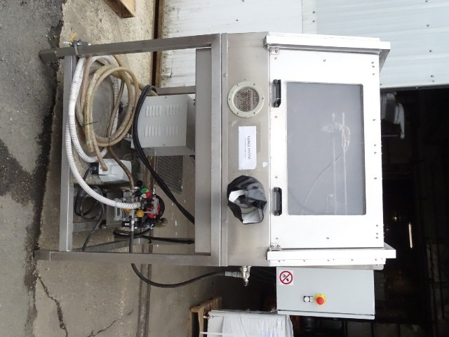 Topcast Engineering  Wet Blasting Stainless Enclosed Cabinet 480V, FRAG/A