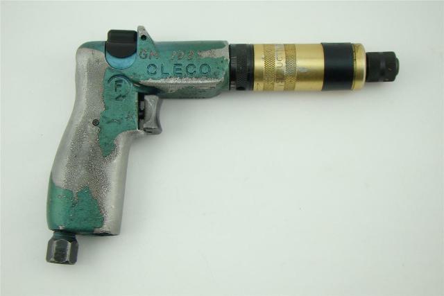 "CLECO , 1/4"" Port Pneumatic Pistol Grip Screw/Nut Driver 5RSATP-10BQ"