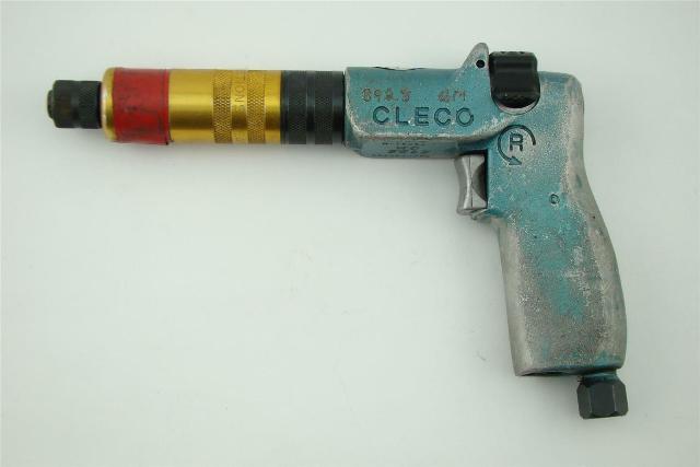"CLECO , 1/4"" Port Pneumatic Pistol Grip Screw/Nut Driver 5RSAPT-2BQ"