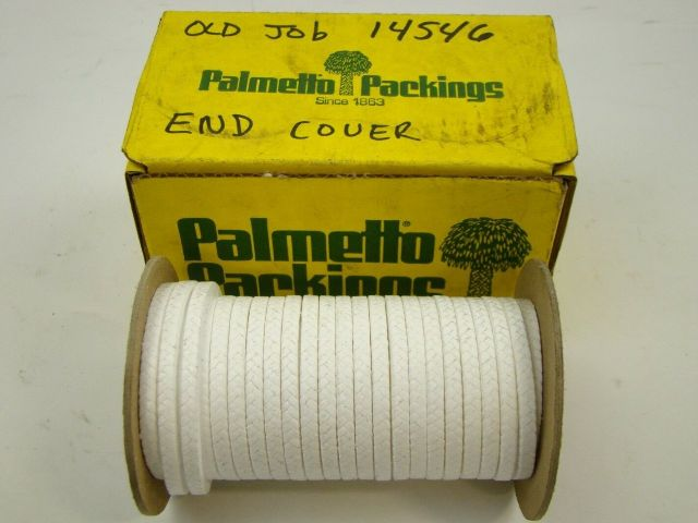 """Palmetto Packings 3/16"""" Roll TFE Filament Interwoven Packing 1367H"""