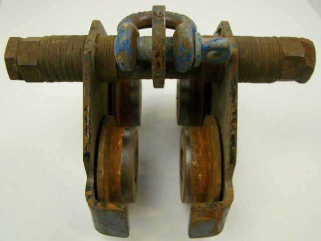 Beam Trolly Manual, Adjustable for different Beam Widths