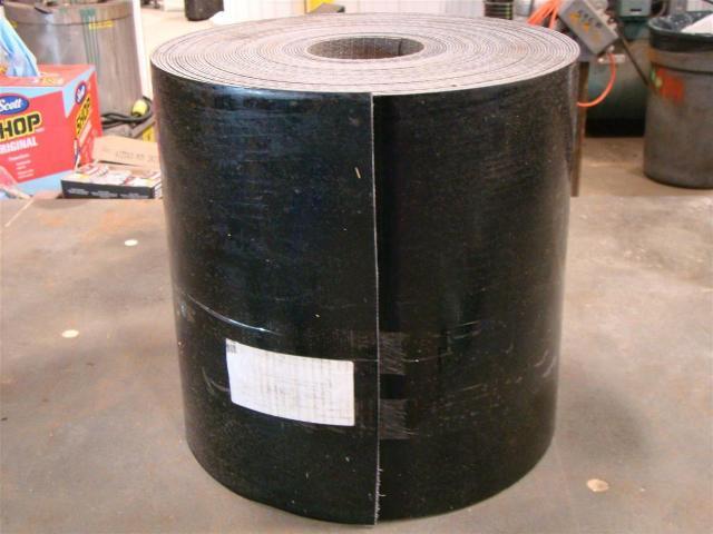 "Ammeraal Beltech Black PVC Flat Conveyer Belt, 150' x 18""  , 40200"