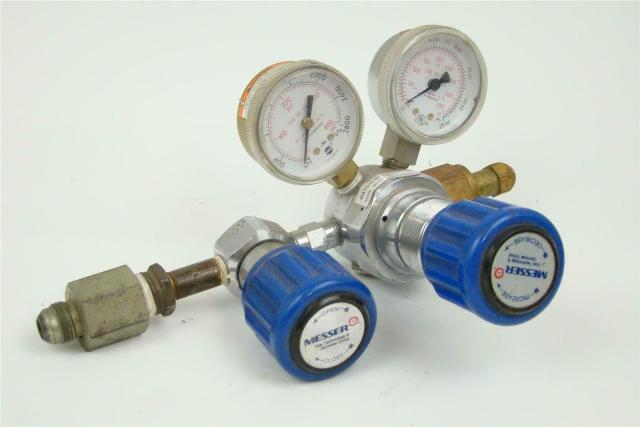 Messer Compressed Gas Regulator Max IN: 3000 PSIG, S315-3