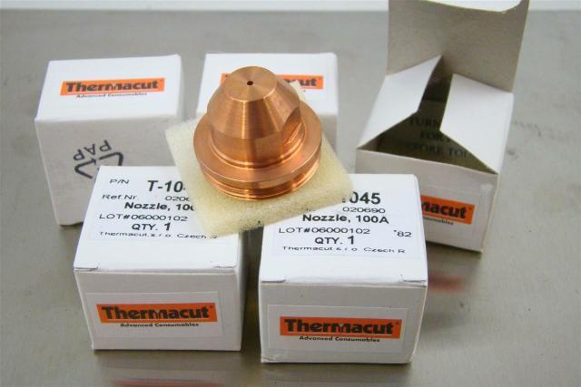 (5) Thermacut Nozzle, Oxygen .055, 100A, T-1045