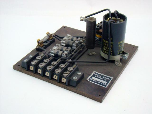 Carlyle Johnson Fused Capacitor Block , CEC-101