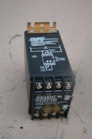 Regent Solid-State Clutch Brake Power Supply Relay , PR523-120