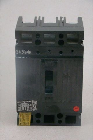 General Electric 600VAC 15A 3-Pole Circuit Breaker , TED136015