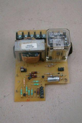 General Electric PC Circuit Board w/ Potter & Brumfield KUP11D15-12 , 44A305049