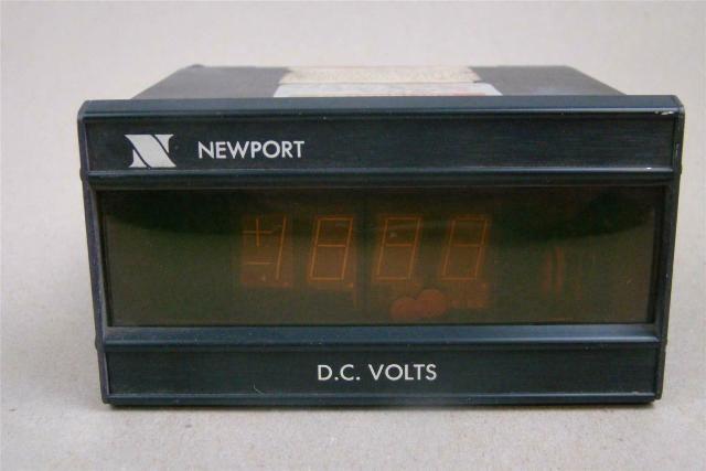Newport Digital DC Volt Meter 115vAC, 0.1 Amps, 200AS-3 A3,D2