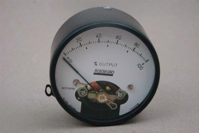 Foxboro % Output Gauge , BO138YM