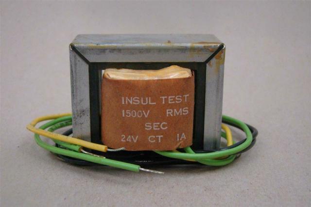 Stancor Filament Transformer 1500V RMS PRI: 117v SEC:24v CT, P-8661