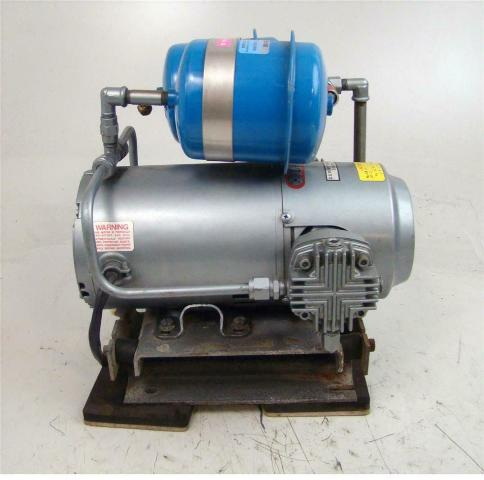 Gast 1/2HP Air Compressor 200vAC, 3PH, 1725 RPM, 50 PSI, 3.1cfm, 3LBA-22-M410X