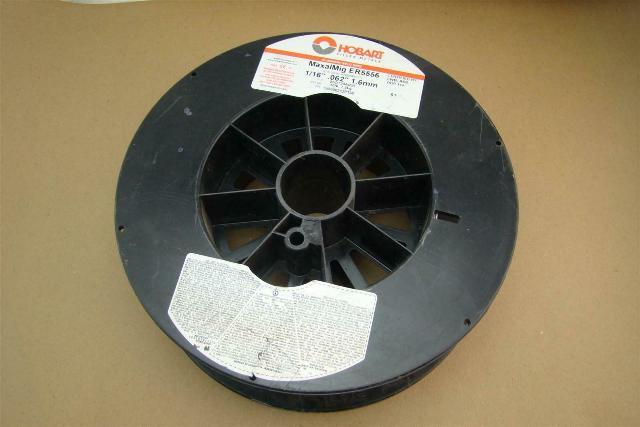 """Hobart 1/16"""", .062"""", 1.6mm Aluminum Welding Wire , MaxalMig ER5556"""