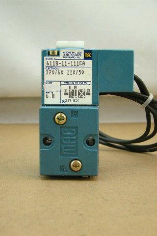 MAC Solenoid Valve 120v/60Hz, 150 PSI, 611B-11-111CA