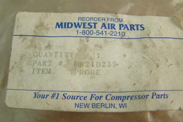 Midwest Air Parts Thermocouple Tempature Probe , MW21D239