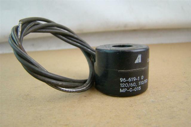 Asco  Solenoid Coil  96-619-1D 120/60, 110/50, MP-C-015