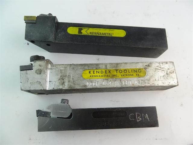 (3) Kennametal  Assortment of Turning Tool  , Holders