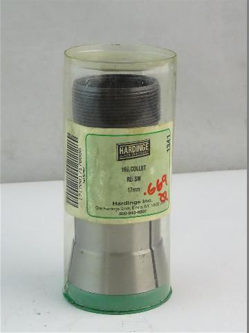 Hardinge  Round Collet  RD SM 17mm , 16C