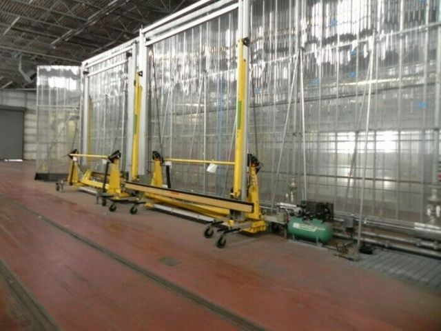DBA SALA Rail Car Portable Fall Protect System,  Free-Standing Adjustable 8517706