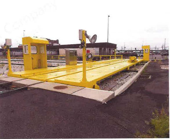 70 TON Rail Car Transverser, Transverse Table