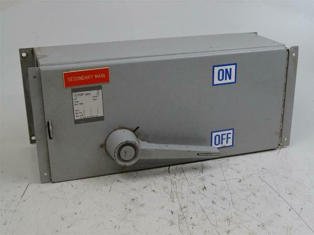 Westinghouse Panelboard Switch 200A, 240AC, FDPS324R