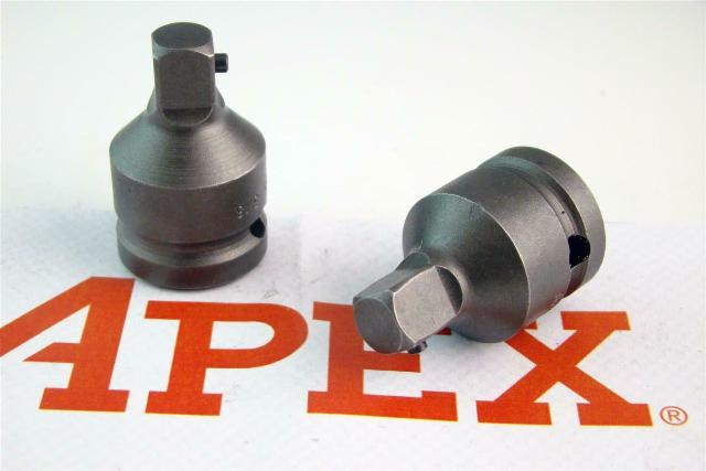 (2) APEXUSA  Square Reducer Socket Adapter  3/8, EX-375