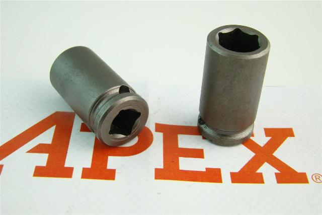 """(2) Apex  1/2"""" Magnetic 6-Point Impact Socket 1/2"""", 3116"""