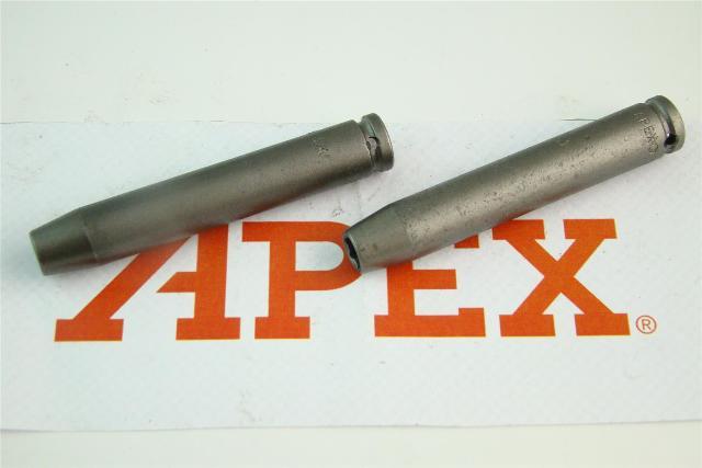 "(2) Apex  1/4"" Extra Deep Magnetic Socket, 1/4"" Drive , 1308"