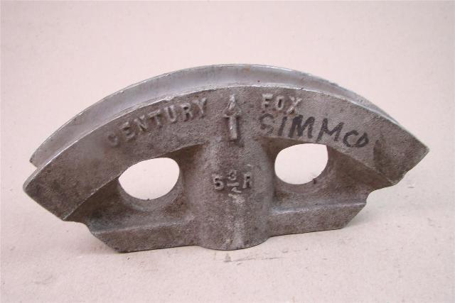 "Century Fox  1"" Bending Shoe for Hydraulic Conduit Bender  1"", PB-90"