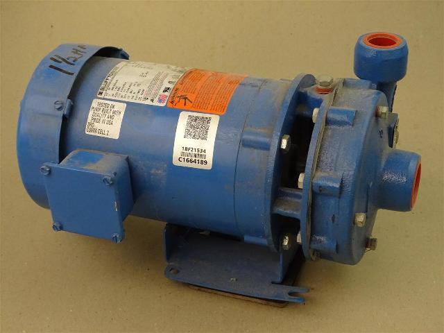 Goulds 1-1/2HP Centrifugal Pump, 1 x 1-1/4-5 , Model 3642