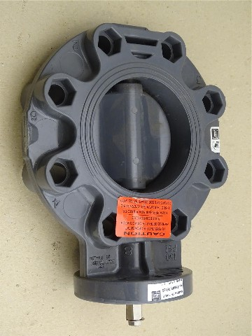 Spears  Butterfly Valve  150 PSI Water , AHBEBG 1 IPS PVCI