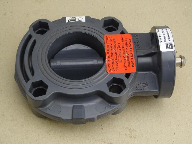 """Spears  Butterfly Valve  2-1/2"""" , 150 PSI Water , 0117222 EPDM"""
