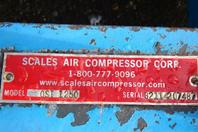 300hp Quincy Rotary Screw Air Compressor 460v  23,000HRS QSI1250