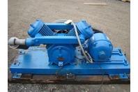 Kellogg-American Skid Mount Air Compressor Model K40AT, GE 5HP Motor  220/440v 3