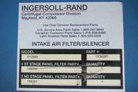 Ingersoll Rand Air Compressor Intake Air Filter Silencer R12909 1X38397