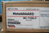 """(4) Lincoln Electric 0.052"""" Metalshield 60# Spools MC-710XL ED028527"""