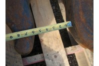 "Large Crane Hook 5"" Throat 4130 Alloy Steel 30"" Long"
