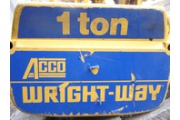 Acco Wright-Way Electric Hoist 2211061