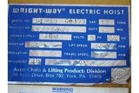 Acco Wright-Way Electric Hoist 2211061
