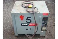 Hobart Accu-Charger 24vDC Forklift Charger 381-450 A.H.  208/240/480v 450C3-12