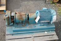 Aurora 1.25x1.5x7 Horizontal Flexible Coupled Centrifugal Pump, GPM:90, HP: 3, 2