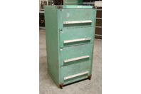 "Stanley Vidmar 4 Drawer Industrial Tool Storage Cabinet , 30 x 27-3/4"" x 59"""