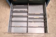 "Stanley Vidmar 4 Drawer Industrial Tool Storage Cabinet , 30 x 27-3/4 x 59-1/4"""