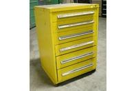 "Stanley Vidmar 6 Drawer Industrial Tool Storage Cabinet , 30 x 27-3/4 x 44"""
